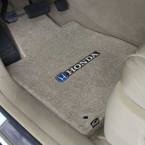 CFMBX1HD9237 Nylon Carpet Coverking Custom Fit Front and Rear Floor Mats for Select Honda Prelude Models Black