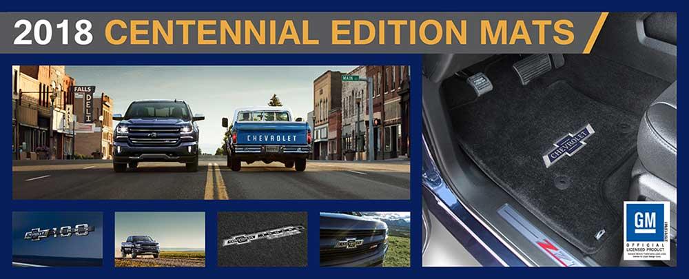 Chevrolet Truck 100  Logo Floor Mats For All Chevy Pickup Trucks