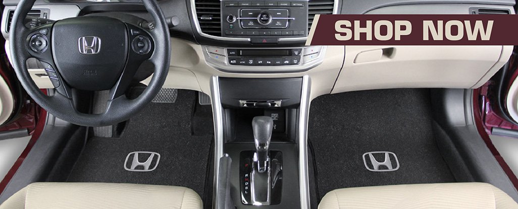 Buy licensed Honda Logo Floor Mats Direct From The Lloyd Mats Factory
